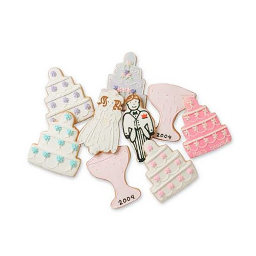 Gourmet Custom Wedding Cookies