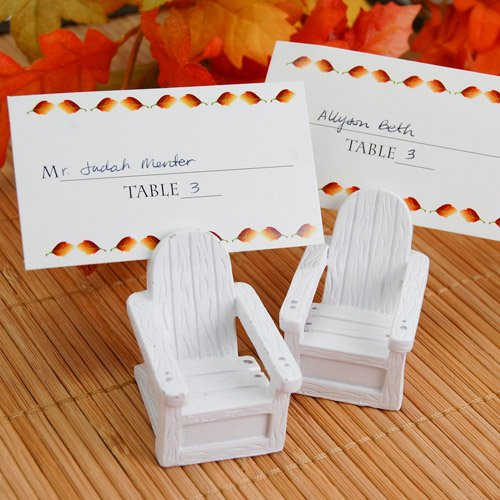 Adirondack Chair Place Card Holders
