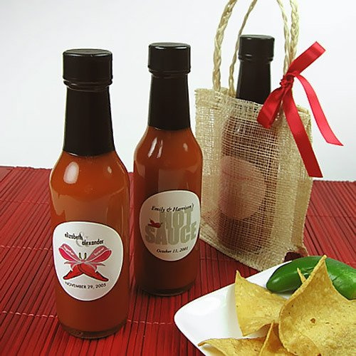 Personalized Hot Sauce Bottles