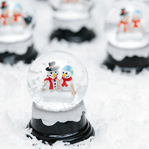 Miniature Wedding Snowglobe