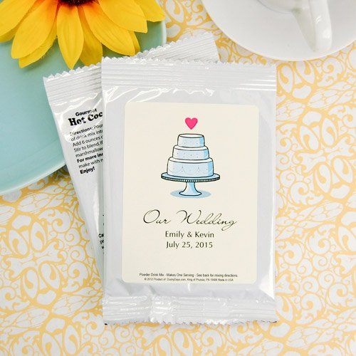 Classic Cake Wedding Hot Chocolate Mix