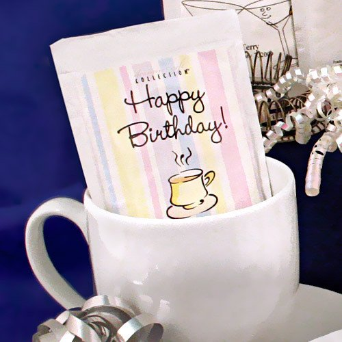 Personalized Birthday Hot Chocolate Mix