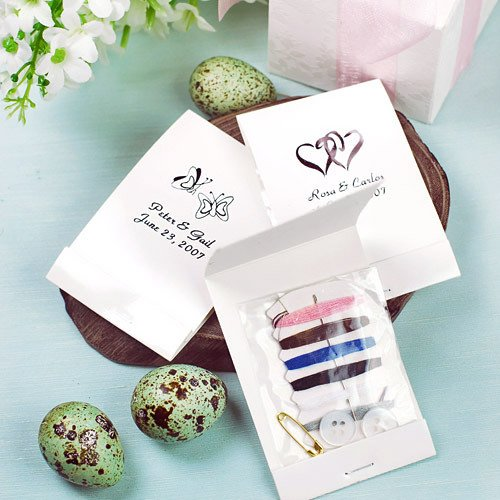 Personalized Sewing Kit Favors