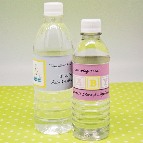 Baby Shower Bottled Water