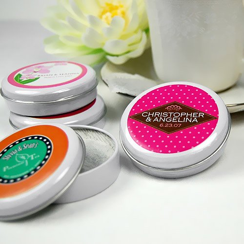 Personalized Travel Tea Tins