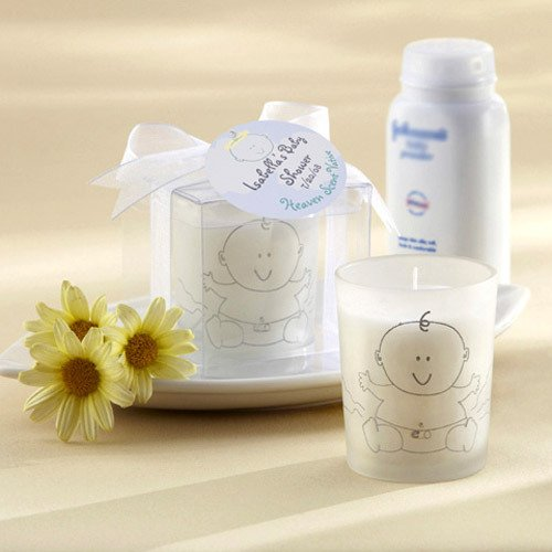 Baby Powder Scented Votive Candles