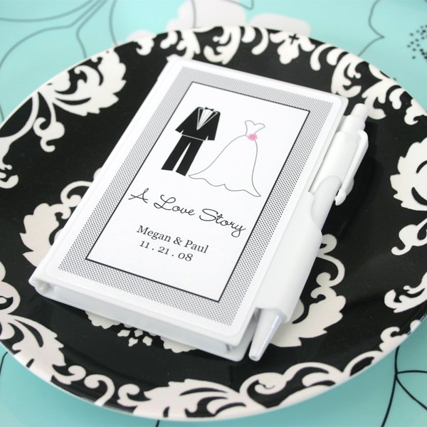 Personalized Classic Themed Notebook Favors