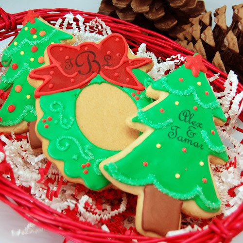 Christmas Ornament Cookie