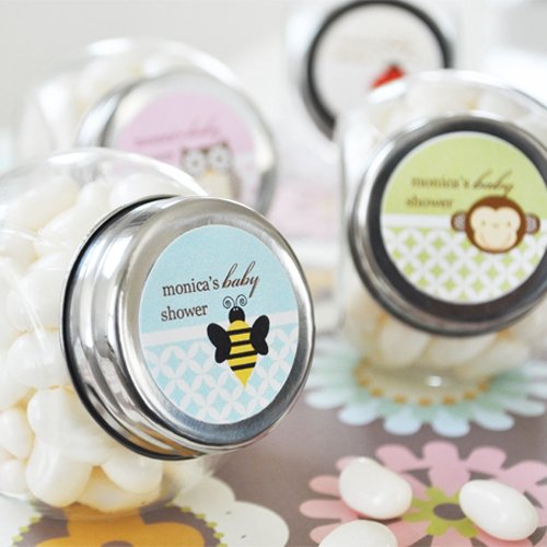 Personalized Baby Shower Candy Jar