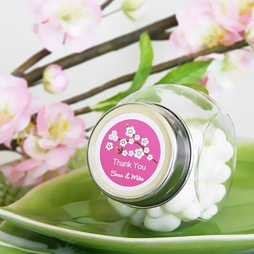 Personalized Mini Glass Candy Jar
