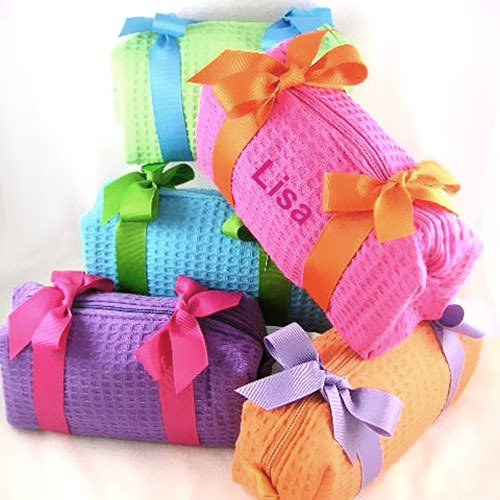 Personalized Spa Toiletry Bags