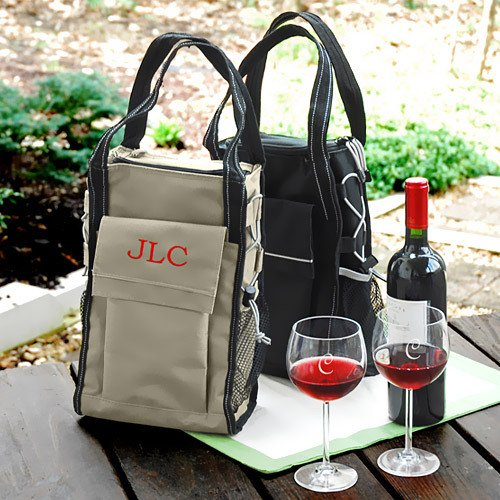 Personalized Insulated Wine Carrier