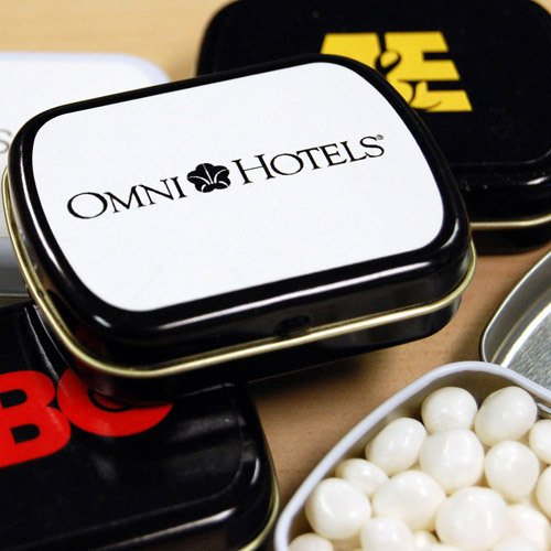 Corporate Personalized Mint Tins