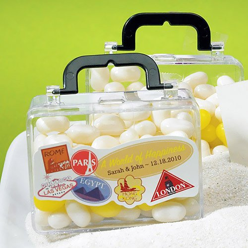 Mini Travel Suitcase Favors