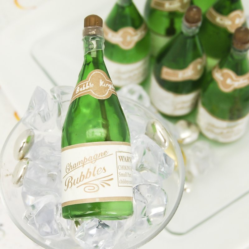 Mini Champagne Bubble Favors
