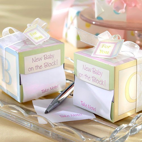New Baby on the Block Sticky Notes