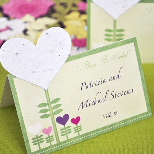 Plantable Seed Place Cards