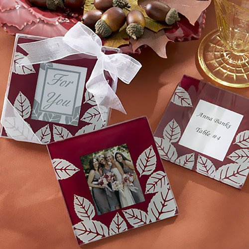 Fall Themed Photo Coasters