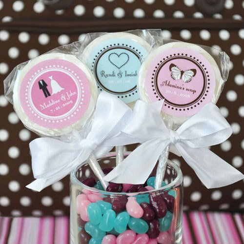 Wedding Personalized Lollipop