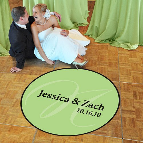 Personalized Dance Floor Decal