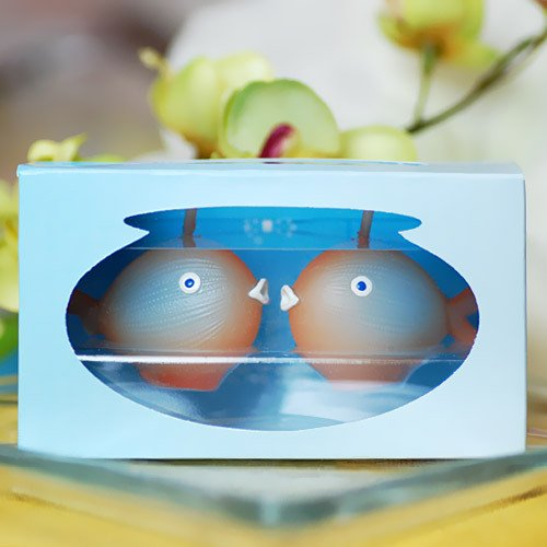 Kissing Fish Candle Favors