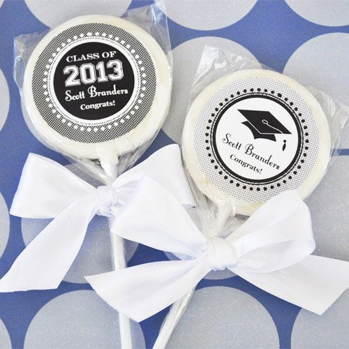 Personalized Graduation Lollipop