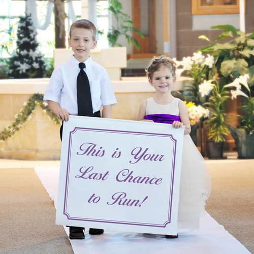 Custom Printed Wedding Banner
