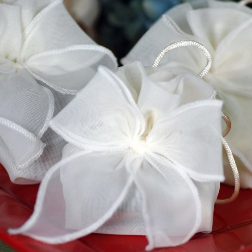 Organza Drawstring Favor Pouches