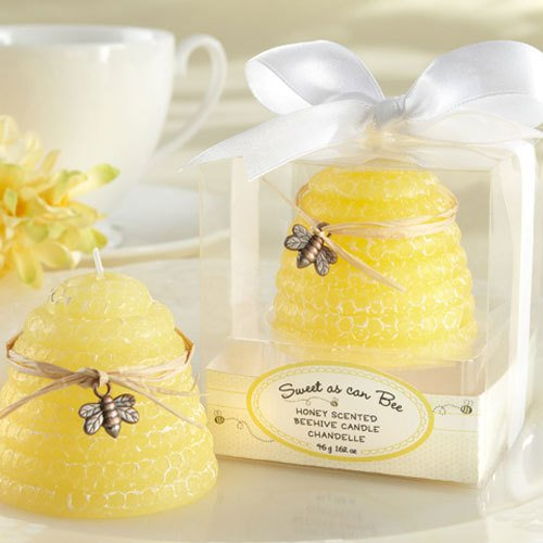 Baby Shower Beehive Candles