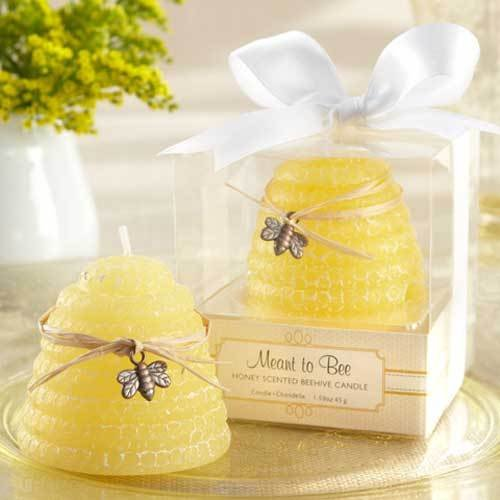 Beehive Candle Wedding Favors