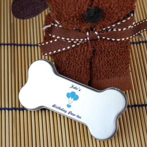 Personalized Doggy Bone Mint Tin