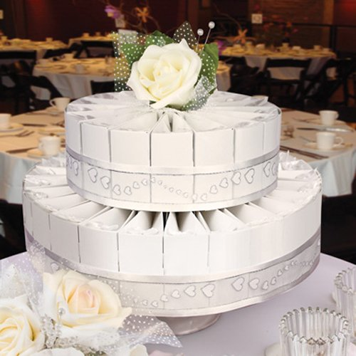Wedding Cake Favor Box Kit