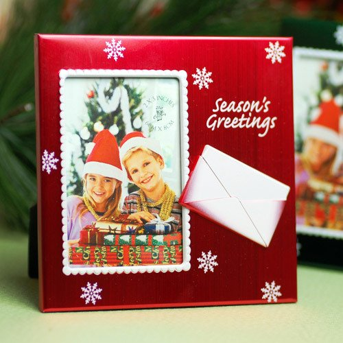 Seasons Greetings Place Frame