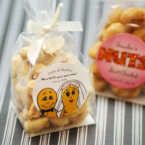 Personalized Nuts Favor