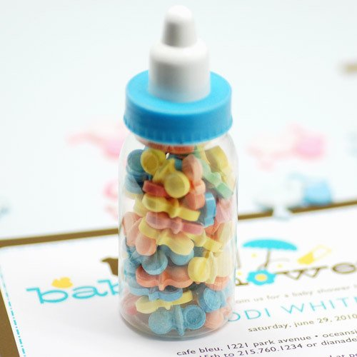 Mini Plastic Baby Bottles