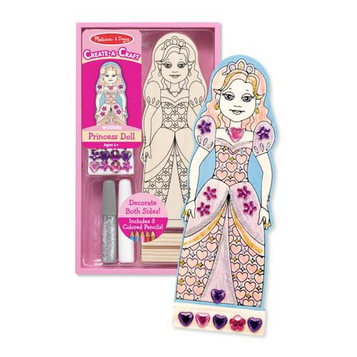 Decorate Your Own Princess Party Favor