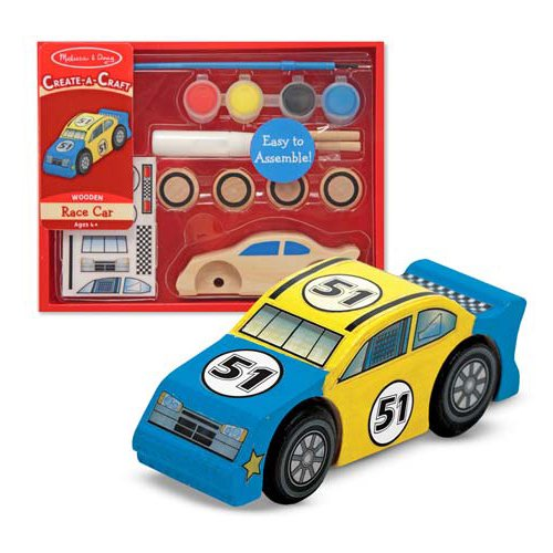 Decorate Your Own Race Car Party Favor
