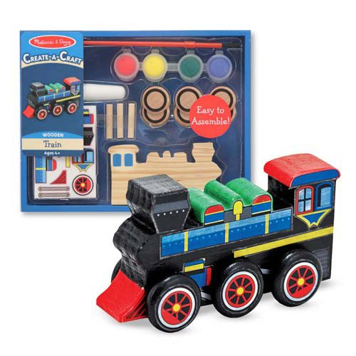 Decorate Your Own Train Party Favor