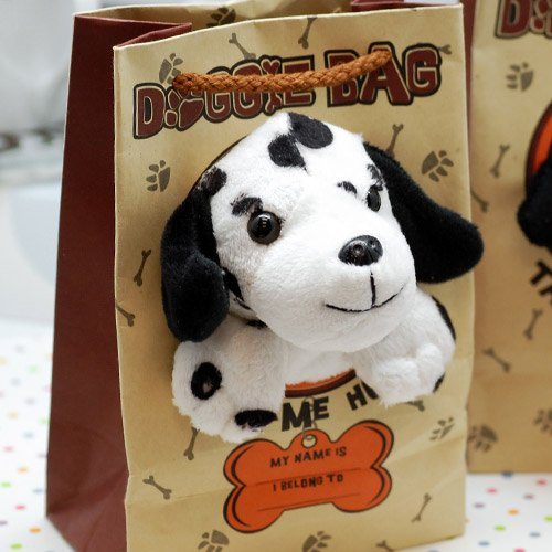 Doggie Bag Stuffed Animal Favors