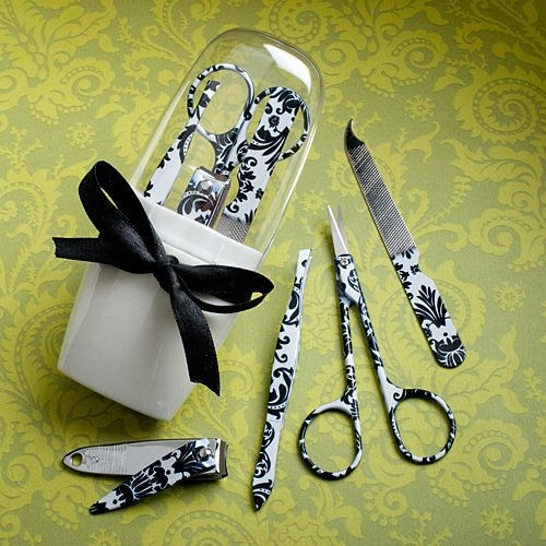 Damask Manicure Sets