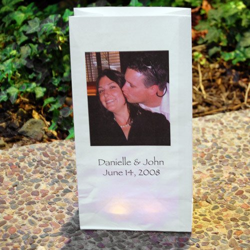 Custom Photo Paper Luminaries