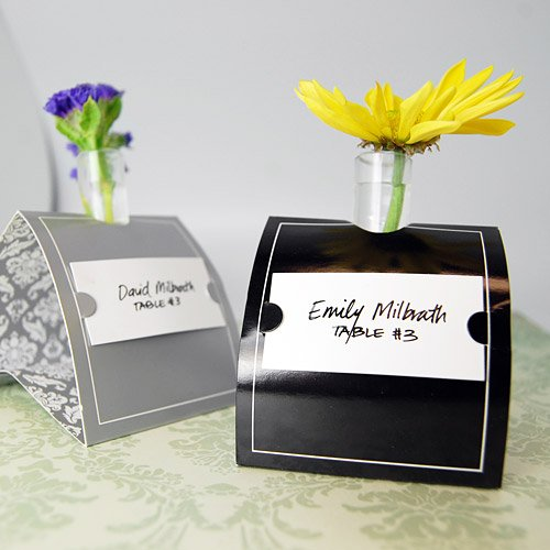 Mini Bud Vase Place Card Holders