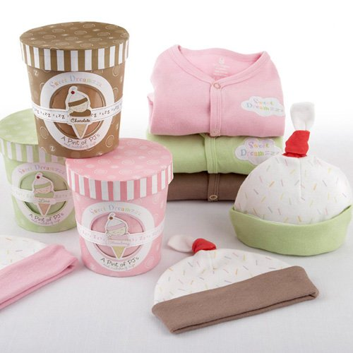 Personalized Ice Cream Baby Shower Gift Set