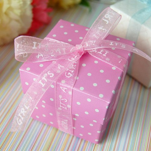 Baby Shower Organza Ribbon