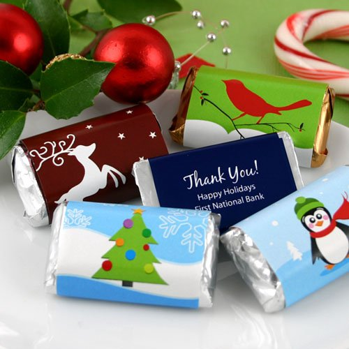 Personalized Holiday Hershey's Miniatures