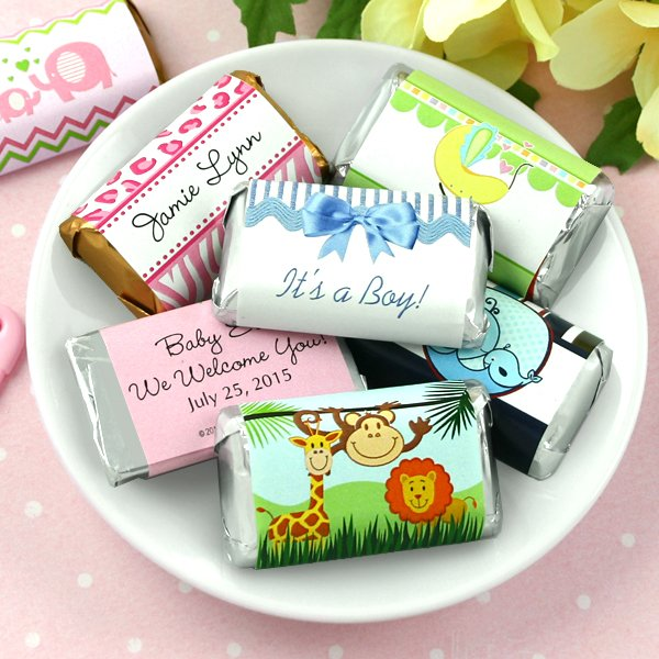 Personalized Baby Shower Hershey's Miniatures