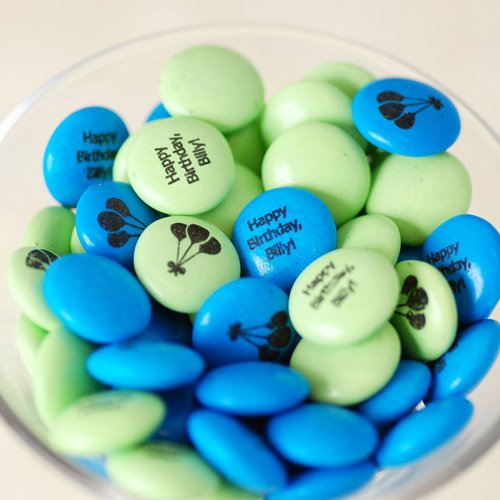 Personalized Birthday Mint Chocolate Candy