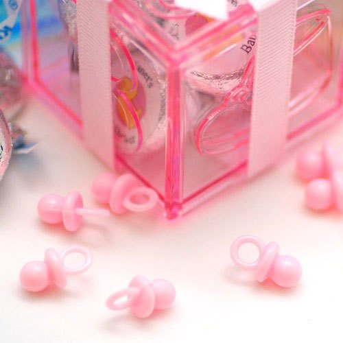 Pink Mini Plastic Pacifiers