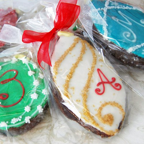 Holiday Ornament Brownie Favor
