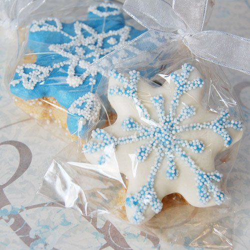 Snowflake Rice Krispy Treat